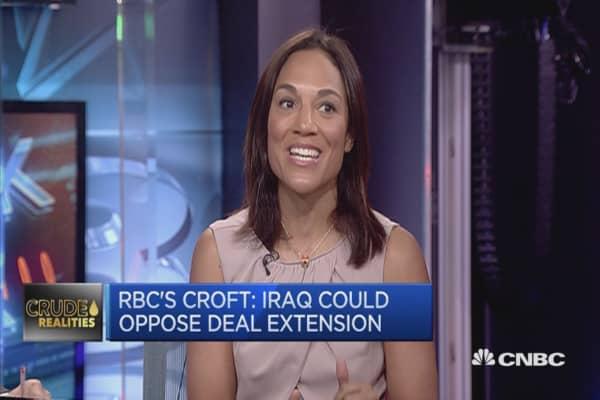 Iraq is key to future of OPEC cut agreement: RBC