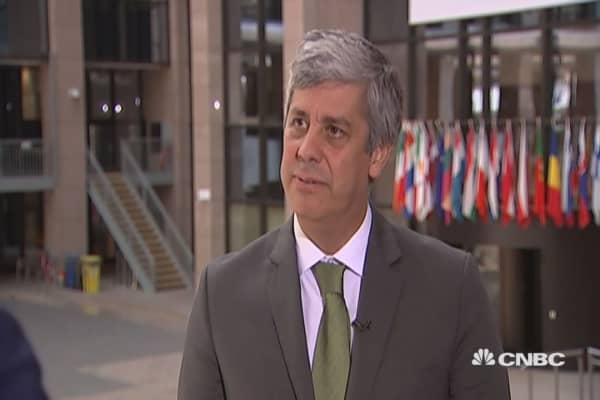 Very much concerned with Eurogroup's agenda: Portugal Fin Min