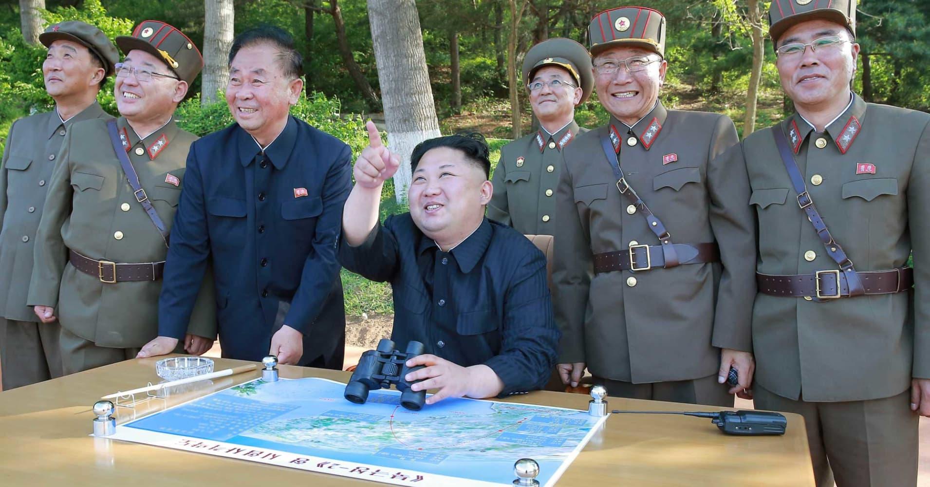 Image result for North Korea says 'all US in range' after latest missile test