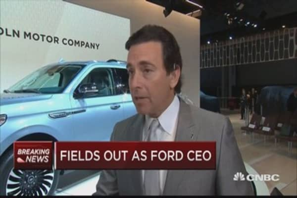Cramer: Mark Fields didn't get a long time at Ford