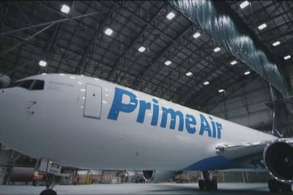 Dozens of Amazon Prime Air pilots plan to protest at the company's shareholders meeting