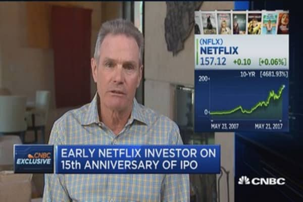 Early Netflix investor on 15th anniversary of IPO
