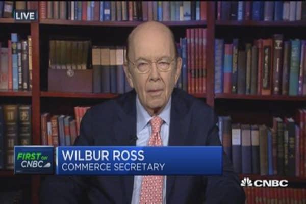 Commerce Sec. Wilbur Ross: Not a hint of protests in Saudi Arabia