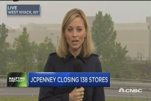 JCPenney closes 138 locations