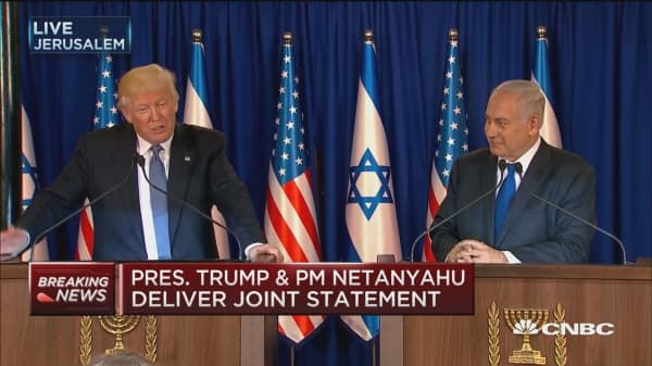 Trump: We can truly achieve peace in region