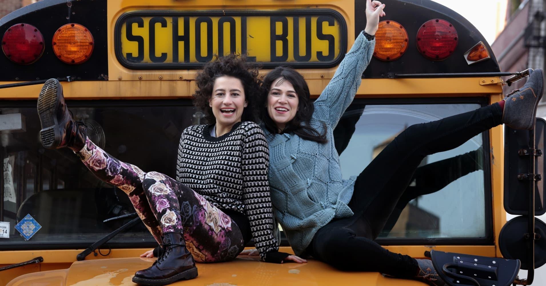 Ilana Glazer and Abbi Jacobson of Comedy Central's, 'Broad City.'