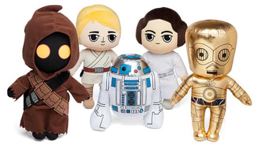 Stars Wars plush set.