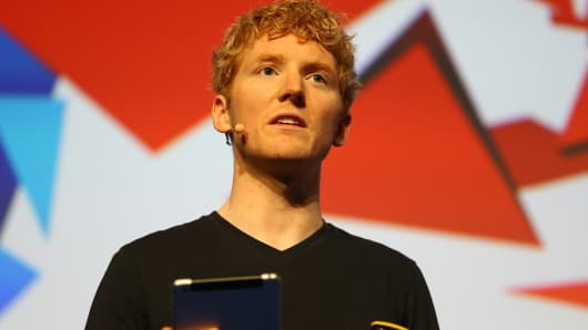 Stripe co-founder and CEO, Patrick Collison