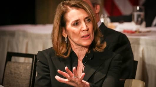 Ruth Porat, CFO of Alphabet, at the New York Economic Club on May 22, 2017.