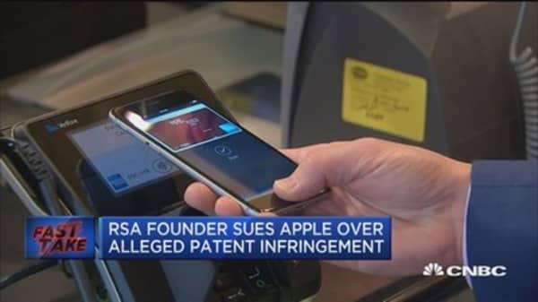 RSA founder sues Apple over alleged infringement