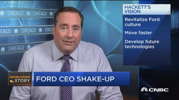 Can Ford's new CEO turn the stock around?