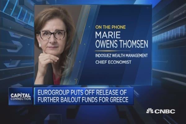 Greece debt talks: 'Like Groundhog Day'