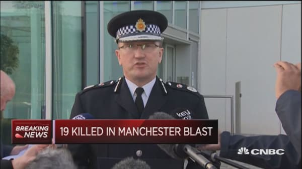 Priority is to establish if Manchester attacker was part of a network