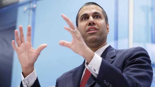 Federal Communication Commission Chairman Ajit Pai