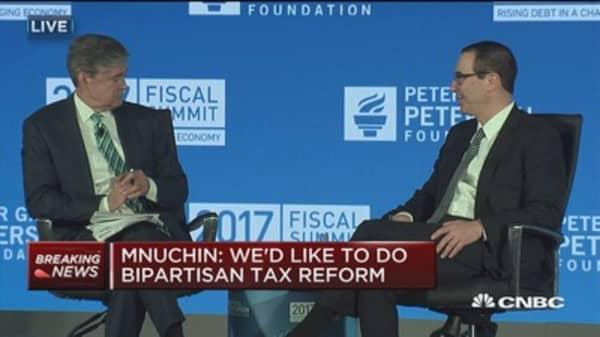 Sec. Mnuchin: We need to create level playing field on taxes