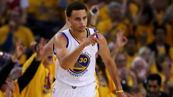 Two-time NBA MVP Stephen Curry