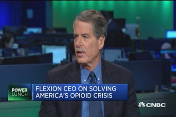 Flexion CEO on developing an alternative to opioids