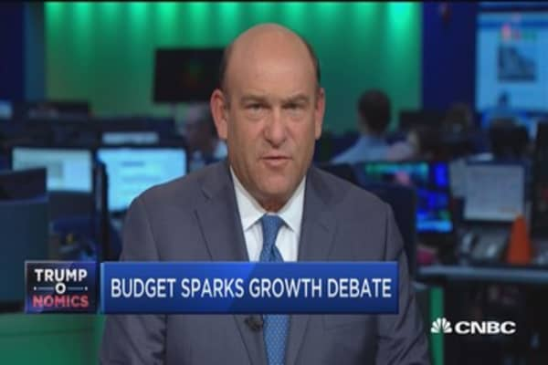 Budget sparks 3% growth debate