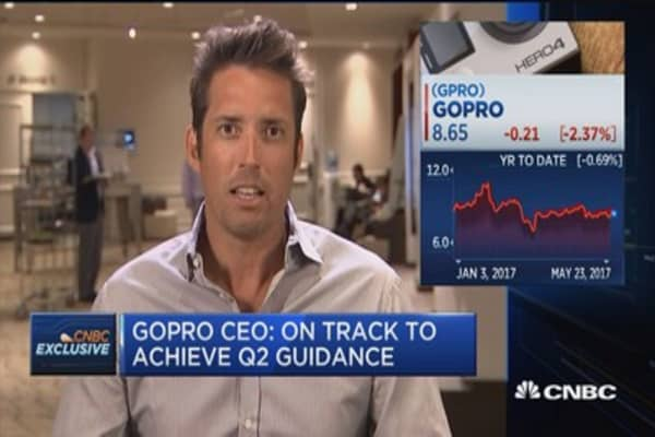 GoPro CEO: We're on-track to achieve Q2 guidance