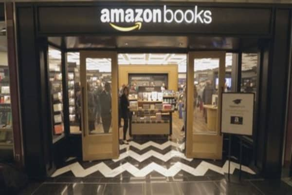 A sneak peak inside New York City's first Amazon bookstore