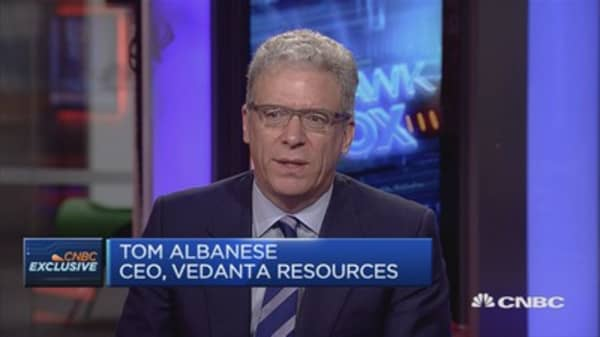 Seen a dampening of sentiment in China: Vedanta Resources CEO