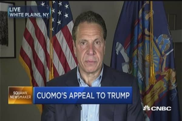 Gov. Cuomo: Penn Station is 'literally crumbling'