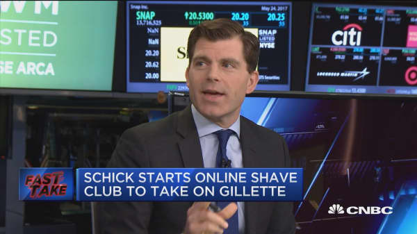 Schick starts online shave club to take on Gillette