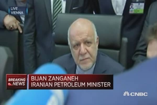 Iran's Bijan Zanganeh on country's oil policies and production