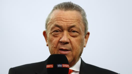 West Ham United co-chairman David Sullivan