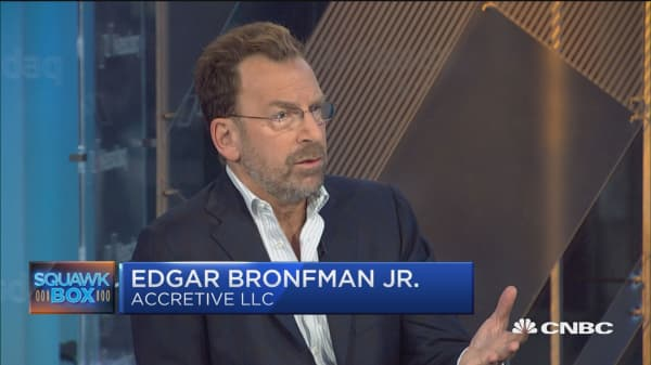 Music is a 'compelling' content story: Edgar Bronfman