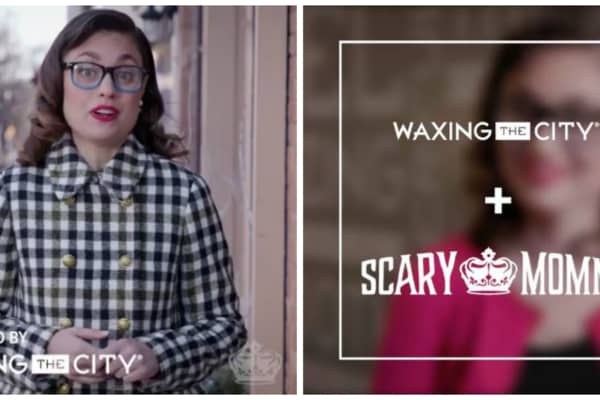 Waxing the City worked with website Scary Mommy on branded content