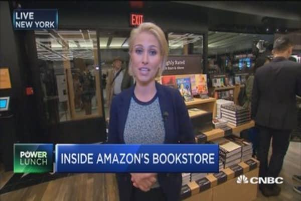 Inside Amazon's bookstore