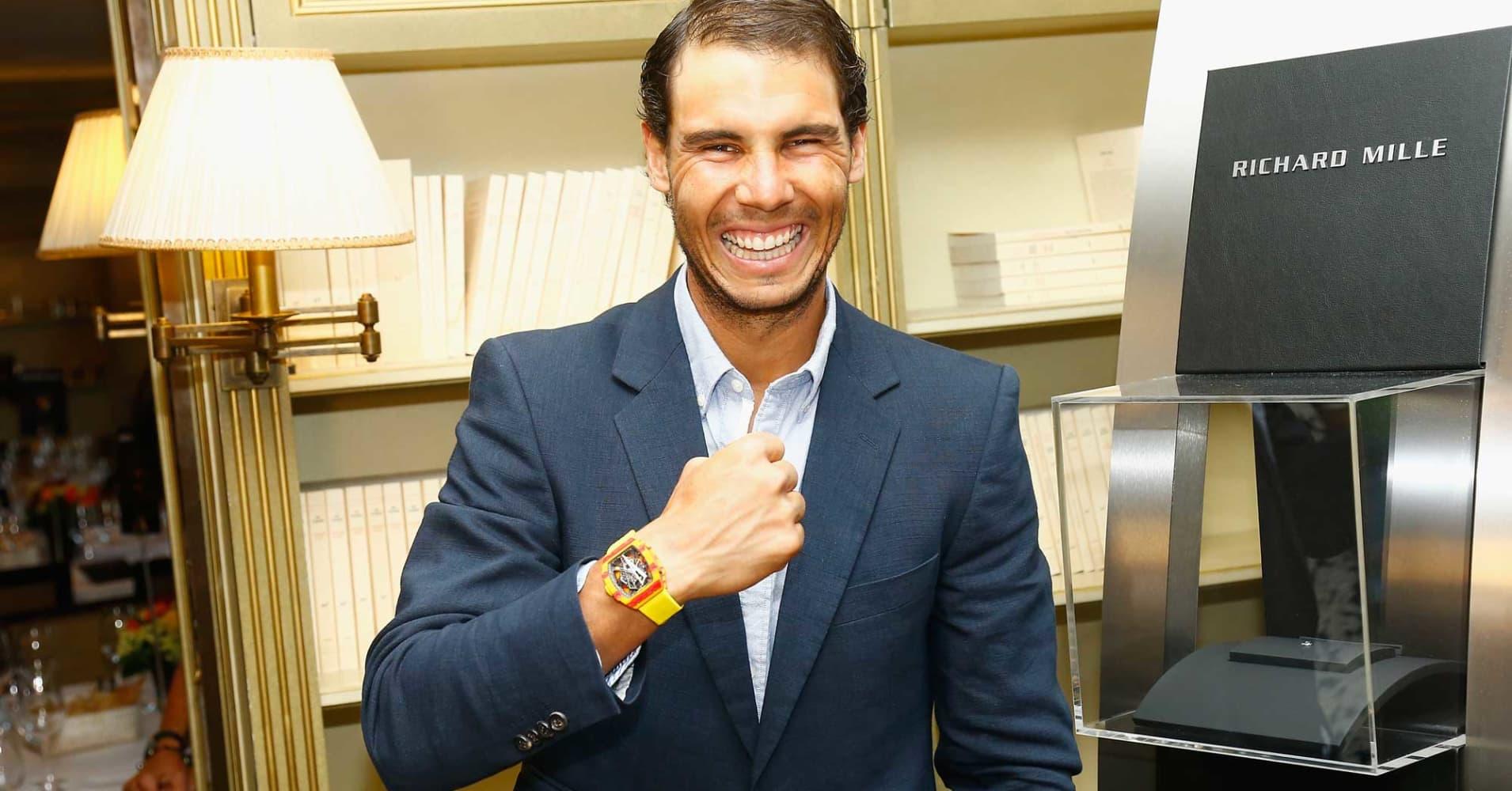 Tennis pro Rafa Nadal s new $725 000 Richard Mille watch