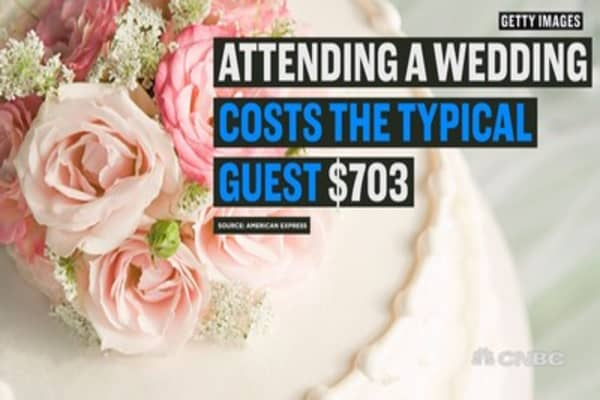 Cutting costs as a wedding guest