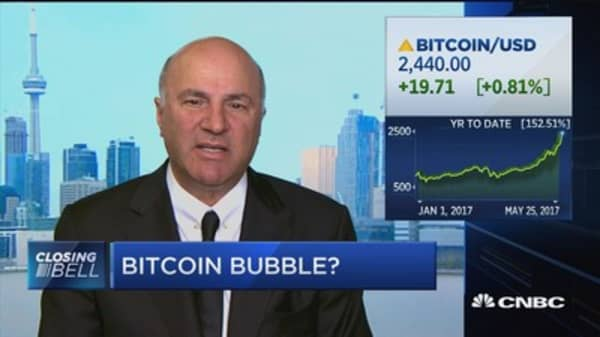 I would short bitcoin: O'Leary
