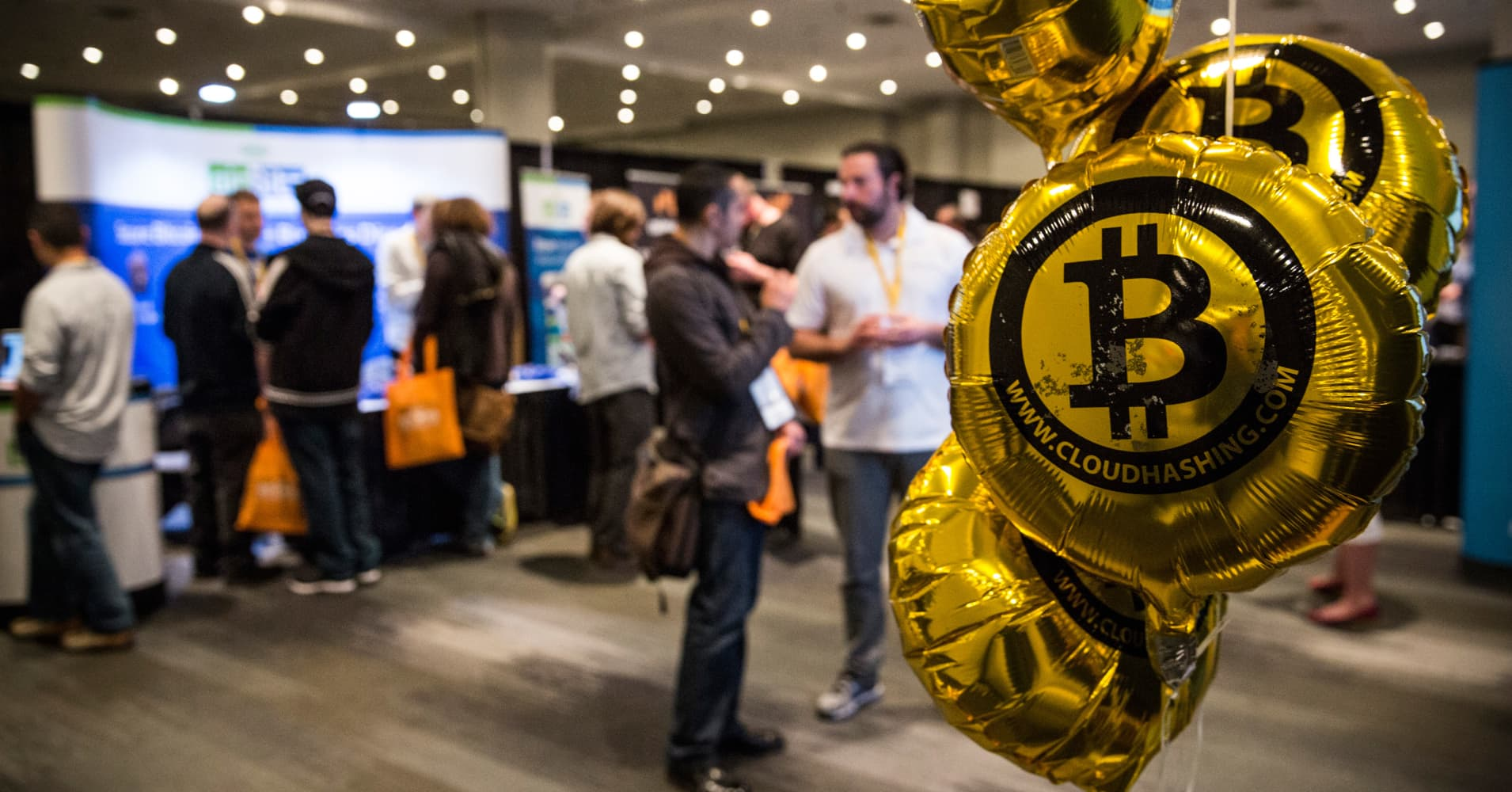 People Attend A Bitcoin Conference In New York (file Photo)