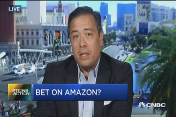 Here's why the options market like Amazon better than Alphabet