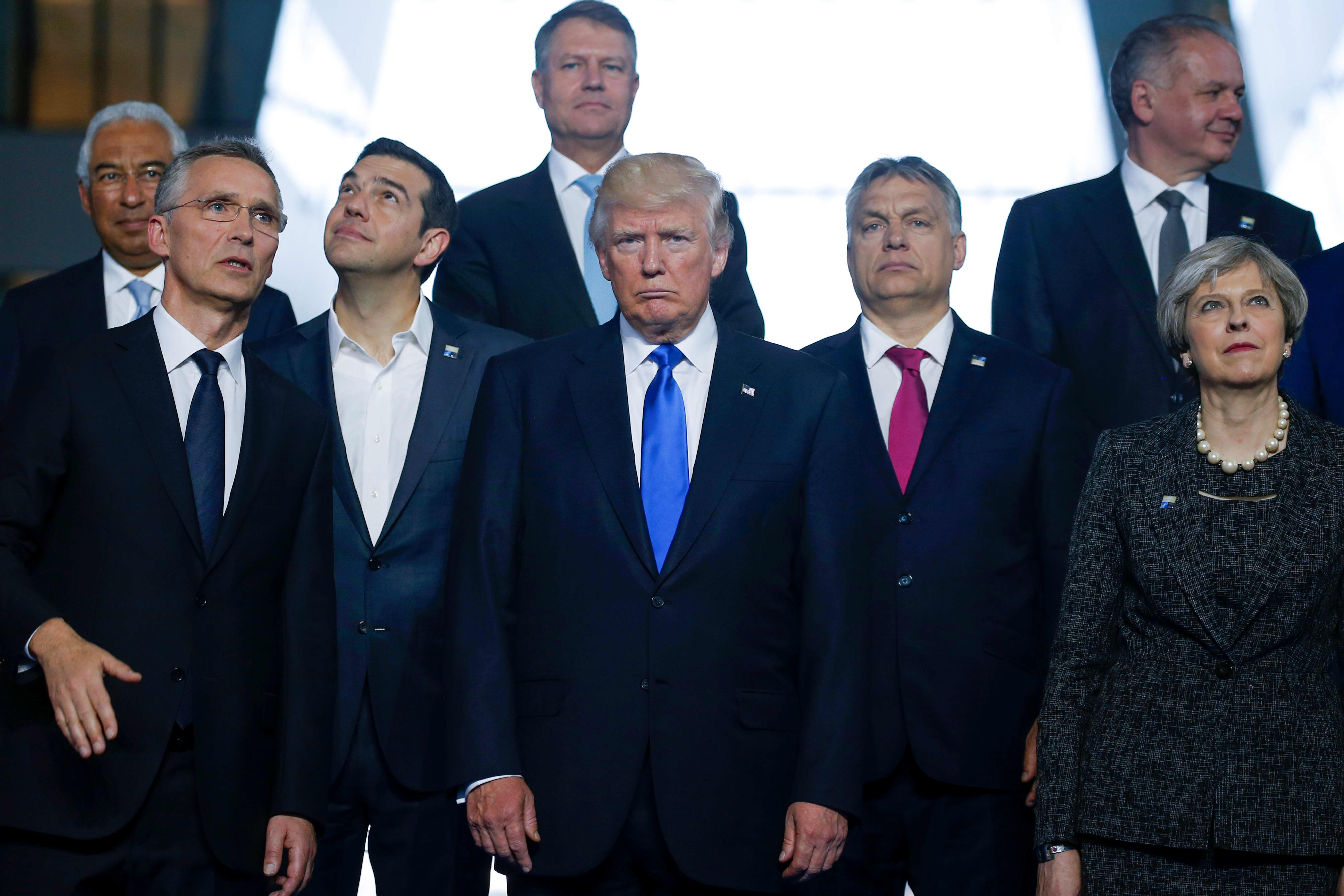 Image result for donald trump, NATO, photos