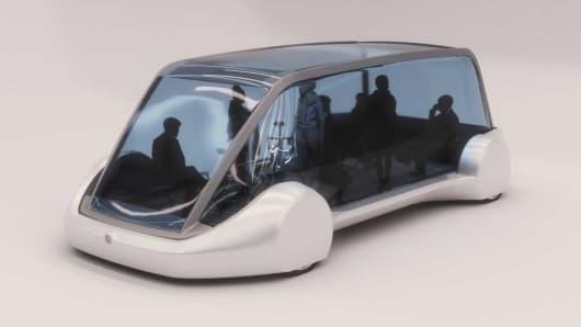Boring Company electric vehicle