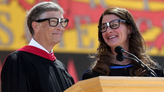 Bill and Melinda Gates are avid readers