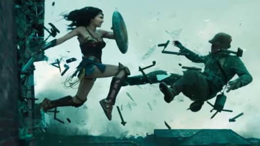 "A still from the movie ""Wonder Woman."""