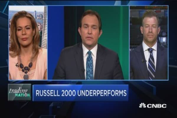 Trading Nation: Russell 2000 underperforms