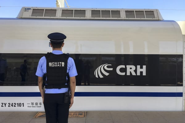 he LanzhouXinjiang High-Speed Railway, also known as Lanxin Railway, a high-speed rail in northwestern China from Lanzhou in Gansu Province to Urumqi along the new Silk road, has been seen as the foundation for the One Belt One Road initiative.