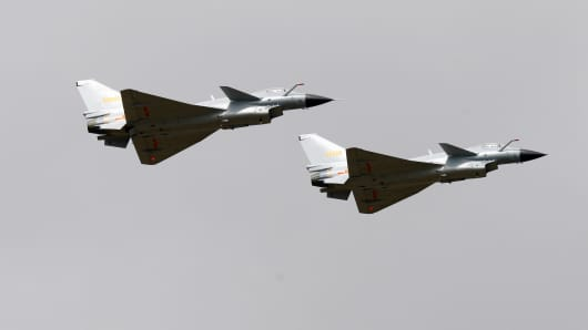 J-10, China's multirole fighter planes.