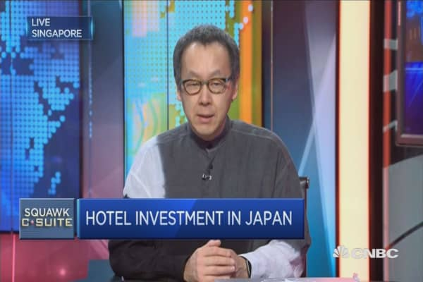 Hoshino Resorts CEO on the hospitality sector in Japan
