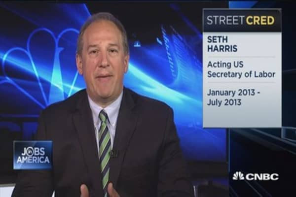 Still room for labor market to grow: Seth Harris