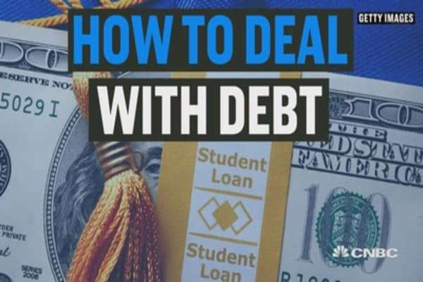 How to deal with college debt