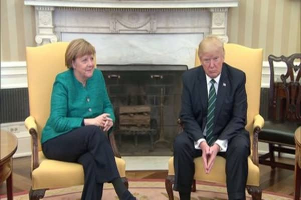 Trump fires back at Merkel, says Germany is 'very bad' for the US