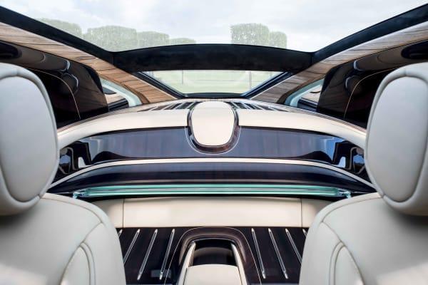 """Sweptail"" Rolls-Royce interior"