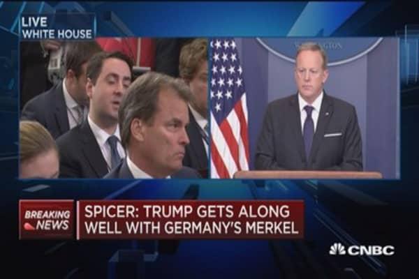 Spicer: Trump's rhetoric has had a positive effect on NATO strength